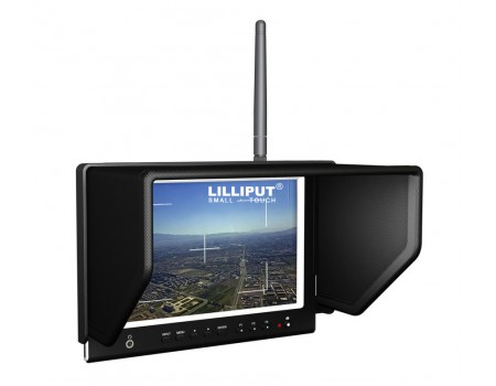 Lilliput 664/W IPS FPV Aerial Flying Monitor